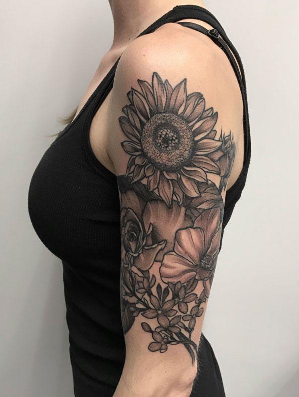 bw-sunflower