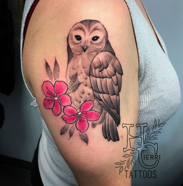 flower-owl